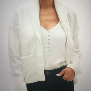 NWT Banana Republic Open front cardigan